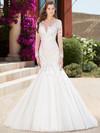 KittyChen Illusion Scoop Neckline Bridal Gown Joelle