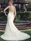 Casablanca 2146 Bateau Neckline Wedding Dress