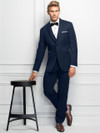 ultra slim navy stearling tuxedo michael kors