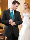 black wedding tuxedo with long jacket cyprus 822