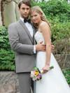 wedding tux in grey by stephen geoffrey