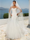 lace mermaid wedding gown justin alexander 8899