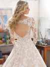 Mori Lee 8110 V-neck Wedding Dress Maira