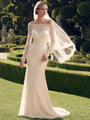 Casablanca 2169 Off The Shoulder Wedding Dress
