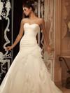 Sweetheart Pleated Organza Bridal Gown Casablanca 2105