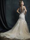 Allure Couture C388 V-neck Wedding Dress