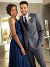Grey Plaid Hamilton Prom Suit Ultra Slim