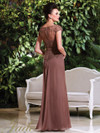 Cap Sleeves Beaded Mother Of The Bride Dress Jade Couture K168016