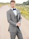 Allure Men Heather Grey Clayton Tuxedo