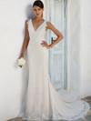 Justin Alexander 8966 V-neckline Wedding Dress