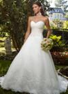 Elegant Bridal Gown Casablanca 1992