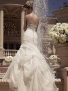 Sweetheart Ruched And Beaded Bridal Gown Casablanca 2107