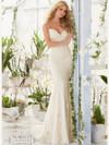 Mori Lee 2807 Sweetheeart Beaded Lace Bridal Dress