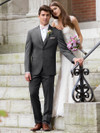 michael kors grey tuxedo rental at dimitra designs bridal shop