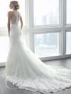 Christina Wu 15620 Illusion High Neckline Wedding Dress