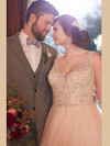 Essense Of Australia Plus Wedding gown D2259