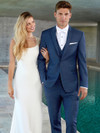elegant blue tuxedo for weddings with ultra slim fit