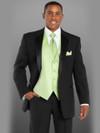 Black Troy Modern Fit Tuxedo