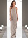 One Shoulder bridesmaid dress Sorella Vita 8852