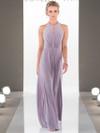 High Neck Sheath bridesmaid dress Sorella Vita 8956