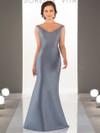 Mikado V-neck bridesmaid dress Sorella Vita 8964