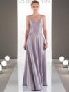 Mikado V-neck A-line  bridesmaid dress Sorella Vita 9108