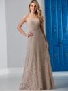 Spaghetti Strap Lace Bridesmaid Dress by Christina Wu 22837