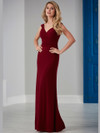 Ruched Bust Jersey Bridesmaid Dress by Christina Wu 22843