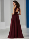 Chiffon Front Slit Christina Wu Celebrations Bridesmaid Dress 22849