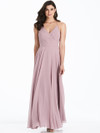 V-neck bridesmaid dress Dessy 3021