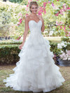 Tiered A-line wedding gown Rebecca Ingram Grace