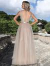 Ashley & Justin Tulle Lace Bridesmaid Dress 20343