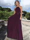 A-Line Stretch Chiffon Bridesmaid Dress by Ashley & Justin 20346