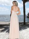 Ashley & Justin Halter Chiffon Bridesmaid Dress 20348