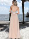 Ashley & Justin Front Slit Chiffon Bridesmaid Dress 20350
