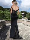 Ashley & Justin Lace Off Shoulder Bridesmaid Dress 20351