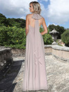 Ashley & Justin Halter Chiffon Bridesmaid Dress 20355