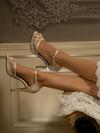 Peep Toe Wedding Shoe Eden 46115 by Touch Ups