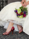 Slip-On Wedding Sandal Poise 4057 by Touch Ups