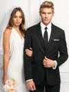 black michael kors suit rental at dimitra designs tuxedo shop