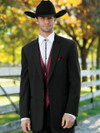 "western tuxedo by stephen geoffrey 31.5"" jacket length"