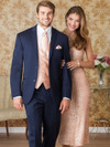 navy groomsmen tuxedo tailored to fit all body types big and tall sizes