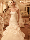 Sweetheart Ruched Bridal Gown Casablanca 2100