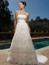Exquisite Lace Casablanca Bridal Gown 1900