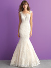 Allure Romance 3003 Illusion Bateau Neckline Wedding Dress