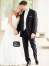 slim fit black tuxedo for weddings tony bowls 930