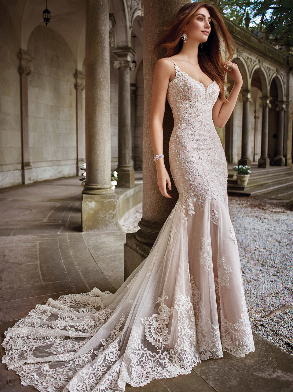 Fit And Flare Wedding Dress.Fit Flare Mon Cheri 117282 Kula Wedding Dress Dimitra Designs