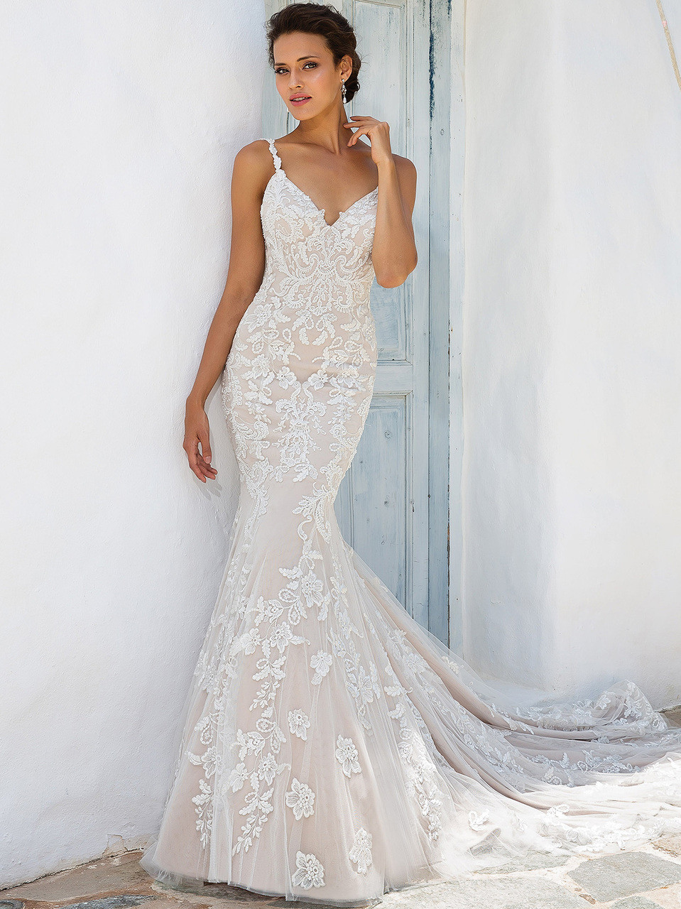 807808e485c2 Justin Alexander 8960 Sweetheart Fit And Flare Wedding Dress ...