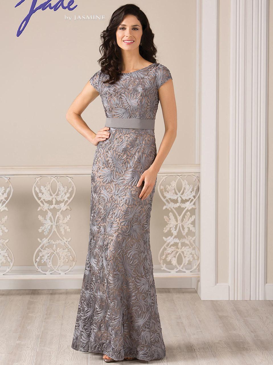 b0313b207c9 Jade J185002 Short Sleeves Mother Of The Bride Dress