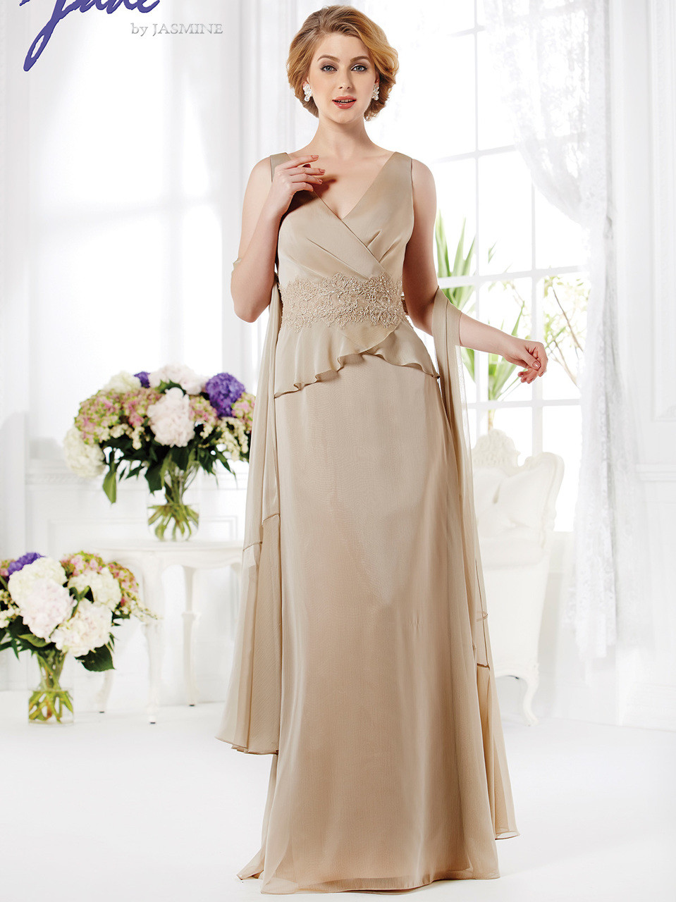 ff24b351c65 Jade Mother Of The Bride Dress J165019 - DimitraDesigns.com